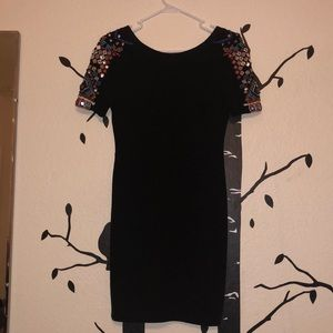 Black Zara mini dress